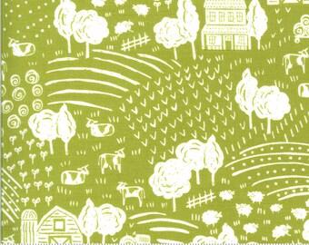 On The Farm  - 2070317 - Moda - The Heartland Green  By Stacy Iest Hsu