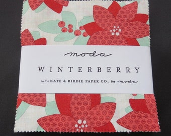 Moda  Winterberry Charm Pack