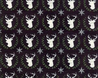 Hearthside Holiday by Deb Strain - Seasonal Christmas  Laurel Deer Black - 1983213 - 19832 13
