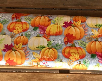 Wilmington Prints, Happy Gatherings - pumpkins -  32053 980 by Lola Molina f