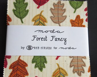 Moda - Deb Strain Forest Fancy - Charm Pack