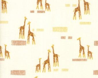 Safari Life Cream Giraffe  20647 11 Moda - Stacy Iest Hsu Childrens Novelty Giraffe Life Natural