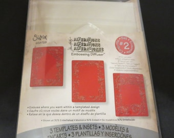 Tim Holtz Alterations Embossing Diffuser Set 2