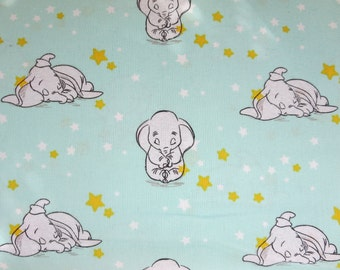 "End of Bolt -  Disney-Dumbo Sweet Dreams 43/44"" Wide 100% Cotton  - Starry"