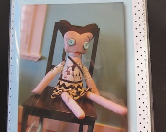 Riley Blake - Rosie The Zombie Doll Pattern - By Emily Taylor Design