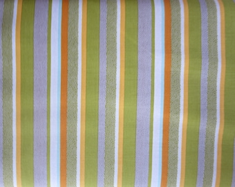 Riley Blake - On Our Way Fabric - C4123-GREEN Way Stripes Green