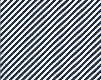 Bonnie Camille Shine On Fabric - Shine On Stripe Navy - 5521517 - 55215 17