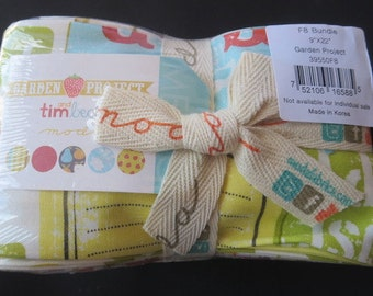 Moda Fat Eighth Bundle - Garden Project by Tim & Beck