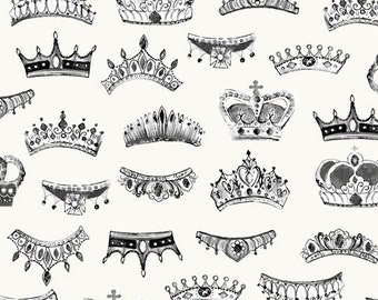LONDON by Whistler Studios -  Windham Fabrics 52346-1 - Crowns