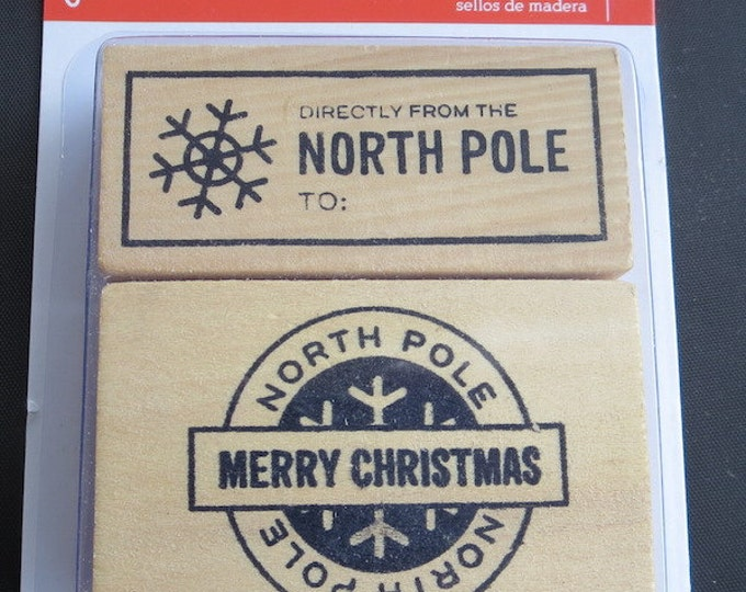 Featured listing image: Back In Stock & Going Fast! - Pebbles -  North Pole Stamps