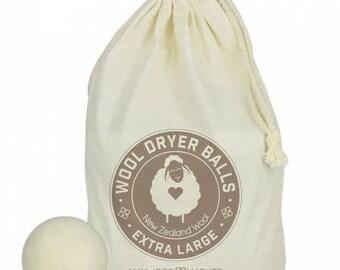 Light Wool Dryer Balls each bag includes 4 reusable dyer balls - MSSWDB-LIG