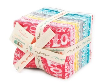 One Day Special - Deb Strain - Hugaboo Fat Quarter Bundle For Moda - One Remaining!