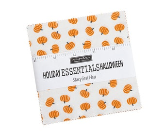 Moda Stacy Iest Hsu - Holiday Essentials Halloween Charm pack - SO CUTE!
