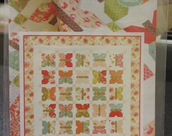 Painted Ladies Quilt Pattern by Fig Tree and Co