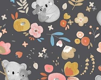 Kenzie -  Windham Fabrics 52062-1 Cuddly koalas,