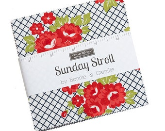 Bonnie And Camille Sunday Stroll - Charm Pack - IN STOCK NOW - 55220PP