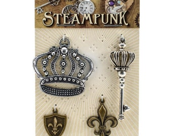 STEAMPUNK Jewelry Parts - STEAM029