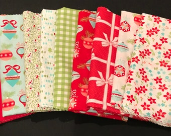 Bonnie And Camille  Half Yard Bundle Plus Other Options - Vintage Holiday