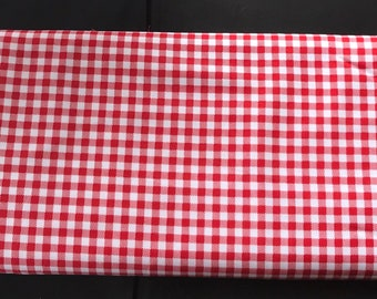 Riley Blake -Bake Sale 2 Gingham Red  By Lori Holt C6988