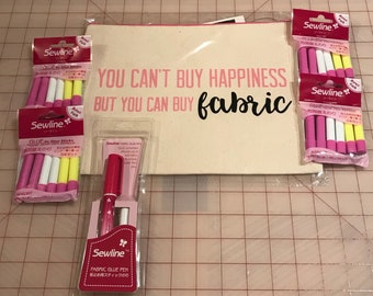 Sewline Fabric Glue Pen Bundle - Makes A Great Gift!