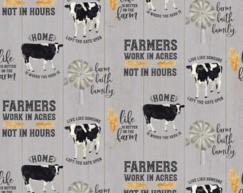 Riley Blake - Homestead life By Tara Reed C 9450 - Fabric - I Spy Fabric