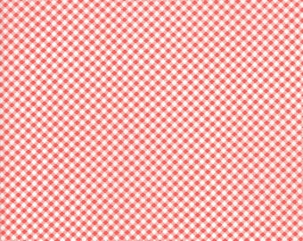 End of Bolt 21 Inches - Moda - Fig Tree Co  - Catalina Lollipop 20375 11 Moda - Gingham