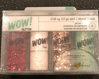 American crafts  Glitter Set -683719 - 4 Piece