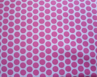 Riley Blake - Honeycomb Dot Hot Pink - C800 - 70
