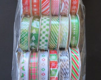 American Crafts Premium Ribbon - Christmas-  366286