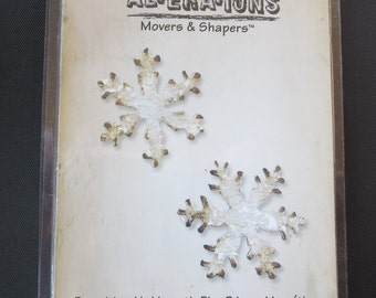 Tim Holtz Alterations - Movers & Shapers Mini Snowflakes Set 657474