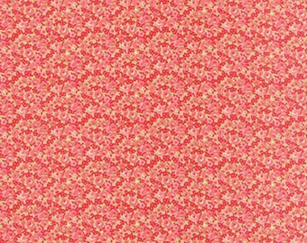 Little Ruby Red 55138 11 Moda Moda Fabric by Bonnie Camille Floral Little Rosie Red