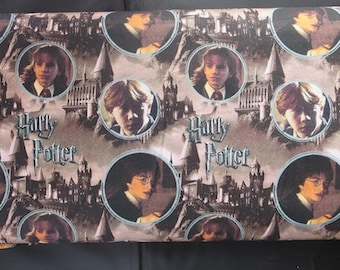 Harry Potter  - Hogwarts And Characters Digitally Printed # 2380202J - Camelot Fabrics