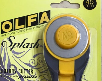Olfa Splash 45mm Rotary Cutter - Navy