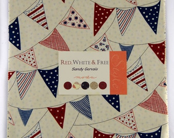 Sandy Gervais - Red, White And Free Layer Cake