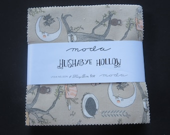 Hushabye Hollow Charm Pack - Only 4 Remaining! - Lydia Nelson For Moda