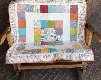 Homemade - The Treehouse Club - Baby Quilt
