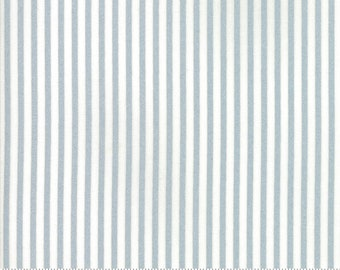 Bonnie Camille Vintage Holiday - Bonnie and Camille Seasonal Christmas Bias Candy Stripe Grey 55168 18M