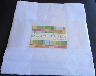 INTORDUCTORY PRICE - Bella Solids Junior Layer Cake - Moda 98