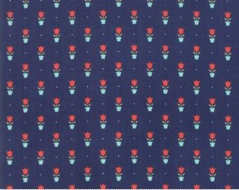 Early Bird - Bonnie Camille Fabric - 55197 15/ 5519715 - Early Bird Tulips