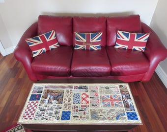 Homemade British Table Runner - England - Great Britain - United Kingdom