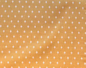 Riley Blake - Lancelot Star Mustard - C7084