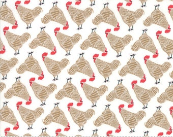 Farm Charm - by Gingiber for Moda - 48292 21 - 4829221 - Chicken Little - In Stock Now!