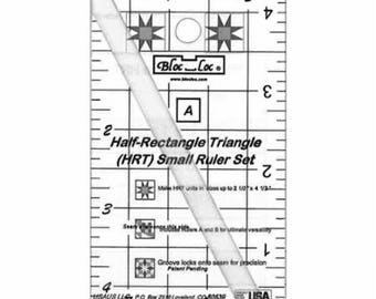 Bloc Loc - Half Rectangle Triangle Mini HRT 2 1 MN