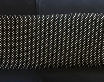 Spot On - Small Dots  EZCM- 12873 Robert Kaufman - Jet Metallic