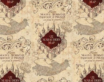 Marauders Map - Camelot- Wizarding World- Harry Potter- J.K. Rowling's Collection- 2380019 - 1