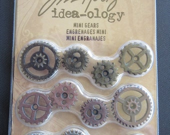 Tim Holtz - Idea-ology Mini Gears TH93012 - Steampunk