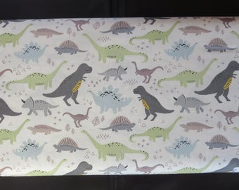 Fossil Rim Fabric - Deena Rutter For Riley Blake - C6610 - FOSSIL MAIN CREAM