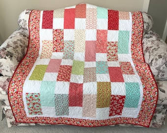 Little Ruby Quilt - Homemade  Quilt