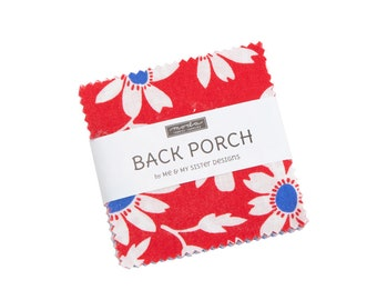 Back Porch by Me and My Sister  For Moda - Mini Charm Pack