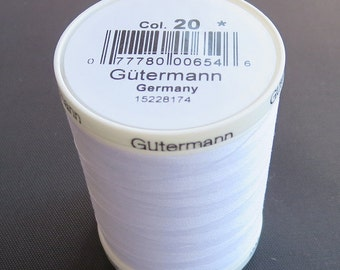 GUTERMANN-Sew-All Thread - 1094yd/1000m spool of 100% polyester thread.